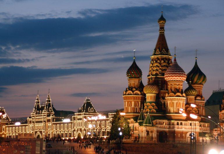 Russland, Moskau, Basiliuskathedrale